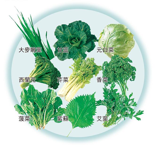 嚴格挑選的9种蔬菜