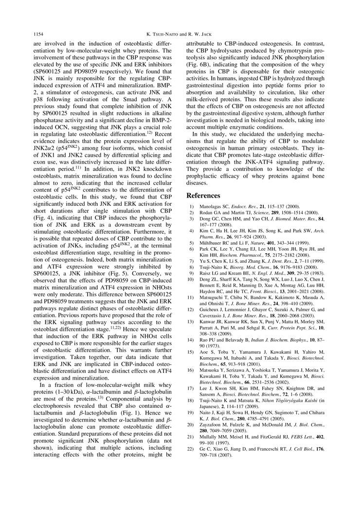 CBP Facilitate Osteogenesis through Activation of the JNK-ATF4 Pathway P5